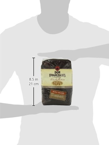 Don Francisco's Kona Blend, 32oz Whole Bean Coffee Bag Family Reserve