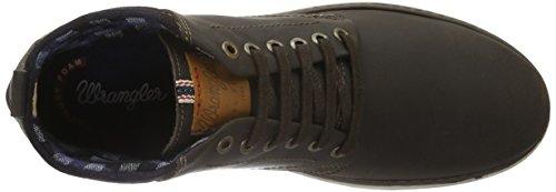 Wrangler Billy, Zapatillas de Estar por Casa para Hombre Marrón - Braun (30 Dk. Brown)