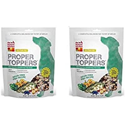 Honest Kitchen The Human Grade Dehydrated Grain Free Dog Food Topper, Fish, 28 oz
