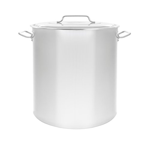 40 Quart Aluminum Stock Pot - Concord Cookware S3539S Stainless Steel Stock Pot Cookware, 40-Quart
