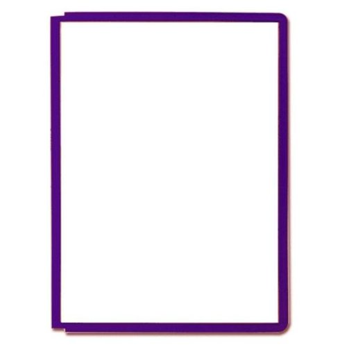 Durable 494792–Case with Pins, A4, Purple
