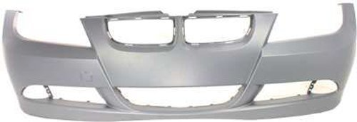 Crash Parts Plus Primed Front Bumper Cover Replacement for 2006-2008 BMW 3 ()