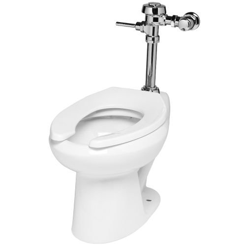 Sloan WETS-2000.1304 1.28 One Piece Elongated Standard Height Toilet with Royal, White by Sloan