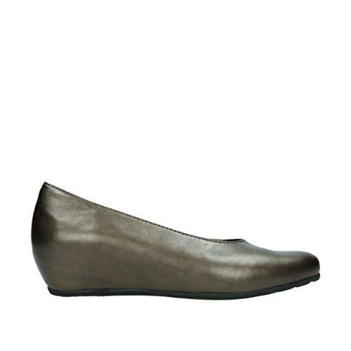 6227 Mocassins Metallic Rouleau Leather Wolky 90330 Copper P76UFWqT