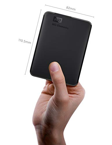 Western Digital Elements 1.5 TB Portable External Hard Drive (Black) 3