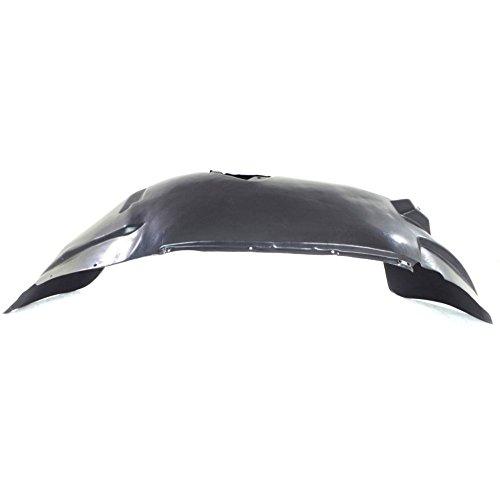 Splash Shield Front Right Side Fender Liner Plastic w/aluminum panel for Dodge Dakota 05-11/RAIDER 06-09 w/Aluminum Panel ()