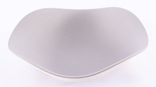 Bamboozle Two-Tone Salad/Dessert, Low Curved Bowls, 7
