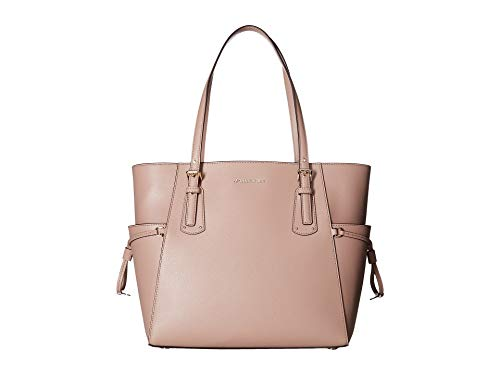 - Michael Kors Voyager Textured Leather Tote- Fawn