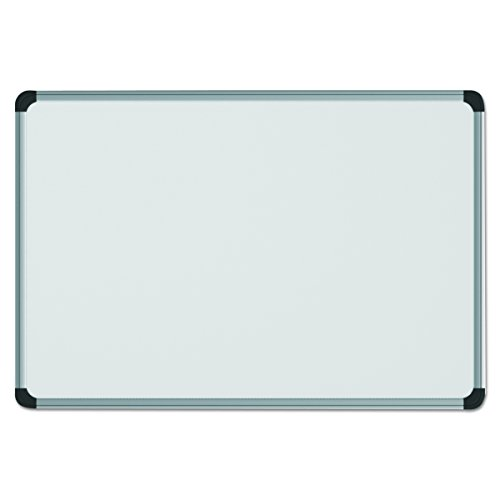 Universal 43734 Magnetic Steel Dry Erase Board, 48 x 36, White, Aluminum Frame by Universal One (Image #1)