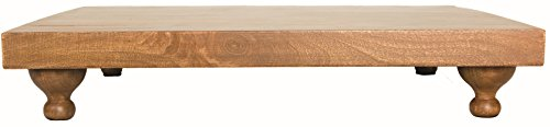 "Heritage Lace Farmhouse 18""X3""X14"" Wood Footed Serving Board from Heritage Lace"
