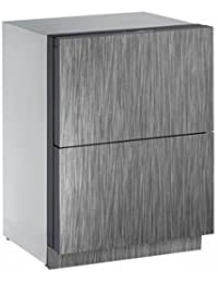 U-Line U3024DWRINT00B 4.5 cu. ft. Built-in Two Drawer Refrigerator, Integrated