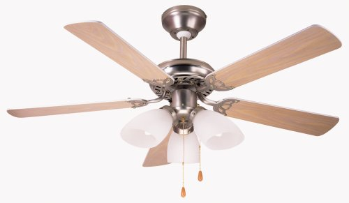 Micromarkvienna 42 ceiling fan with 3 light fitting amazon micromarkquotviennaquot 42quot ceiling fan mozeypictures Choice Image