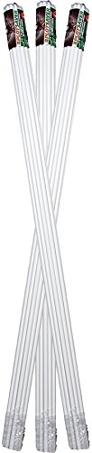 (Messina Wildlife STW-039 39-Inch by 3/8-Inch Deer Repellent White Fiberglass Stakes, 30)