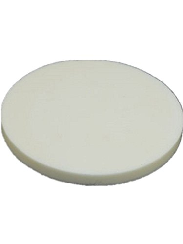 YJINGRUI 99,3% hohe Reinheit rund Alumina Keramik Teller Setter Teller Teller Tiegelteller, 60X4mm, 1