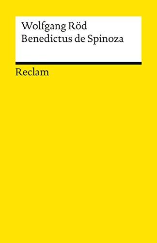 Benedictus de Spinoza: Eine Einführung (Reclams Universal-Bibliothek) (German Edition)