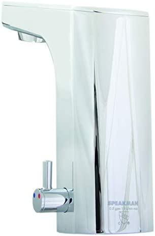 Speakman SF-8702 Sensorflo Bathroom Mixer Battery Operated Touchless Faucet with Sensor, Polished Chrome