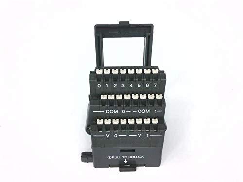 PLC DIRECT T1K-08B-1 Terminator Half-Size Terminal Base, 3-Row, 24-PIN Spring CLAMP, 14 AWG.