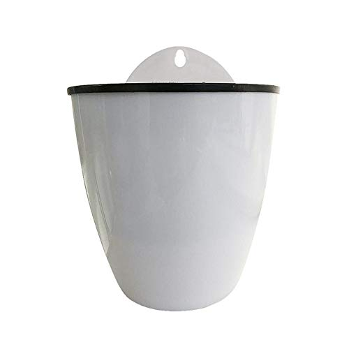 Automatic Water Absorbing Flower Pot Hydroponic Wall Mounted Pot Resin Pot