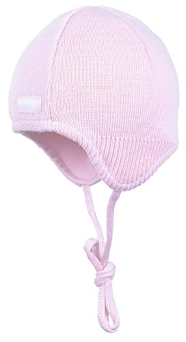 Döll Binde-inkamütze Strick - Gorro de Punto Bebé-Niños rosa (pink lady 2720)