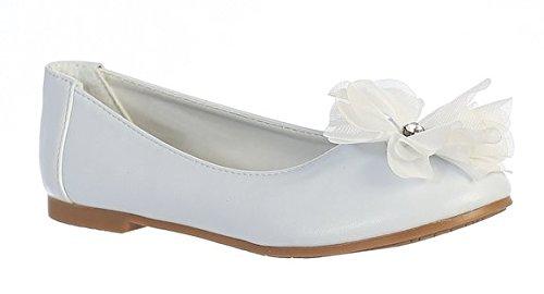 Swea Pea & Lilli Little Girls Flat Flower Dress Shoe (13 M US Little Kid)