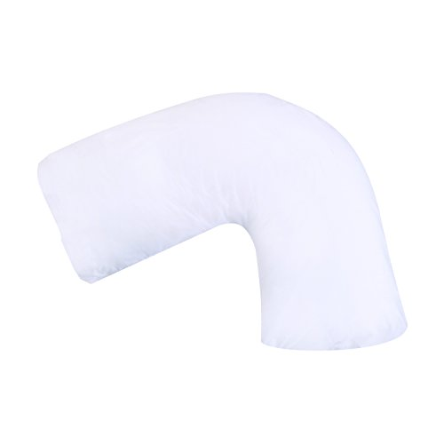 DMI Hugg-A-Pillow Hypoallergenic Bed Pillow - Contoured Neck Pillow