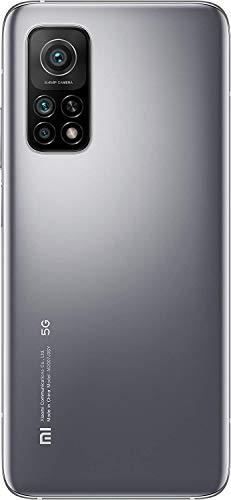 """Celular Xiaomi Mi 10T 128GB 6GB Ram 5G Dual Sim Tela 6,67"""" Câmeras 64MP+13MP+5MP e 20MP - Lunar Silver"""