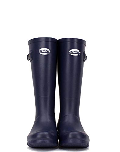 Wellington Award Natural Calendered Knee high Cushioned Insole Boots Navy 3 Our Free Rubber Winning Ladies Size Delivery rqYXqHpw