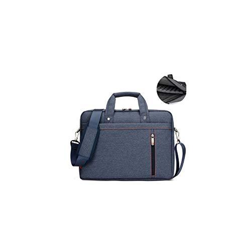 (Computer-backpacksBrand Waterproof Laptop Bag 17.3 17 15.6 15 14 13.3 13 inch Shoulder Portable Messenger Women Notebook Bag for MacBook air Bag,Blue,15.6 inch)
