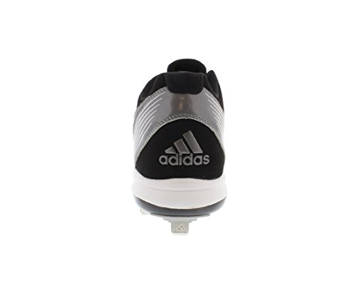 Adidas Performance Menns Poweralley Metall Lav Baseball Klamp Svart / Hvit / Neo Jern