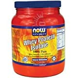 now foods whey protein unflavored - Now Foods Whey Protein Isolate (Unflavored) - 1.2 lb. 2 Pack