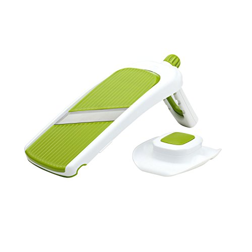 Chef'n Sleek Slice Handheld Collapsible Mandoline, Green