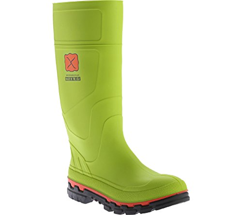 Twisted X Men's Mud Work Boot Steel Toe Lime 12 D(M) US