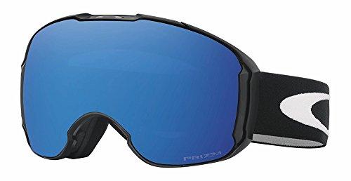 Oakley Men's Airbrake XL Snow Goggles, Jet Black, Prizm Sapphire Iridium, Extra - Goggles Carrera Ski