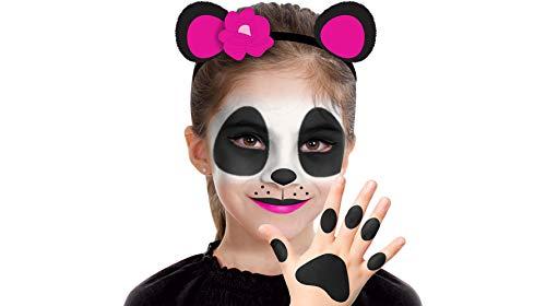 ALMAR SALES COMPANY INC Panda Makeup Kit for Kids, Halloween Makeup, 8 Pieces for $<!--$14.99-->