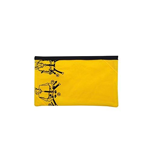 Bag to Life Tasche Clutch Abendtasche silber