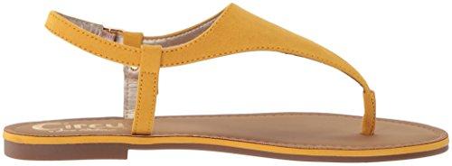 Bianca Yellow Circus Edelman by Sandal Sam Women's Golden Flat cPIPzr
