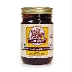 Glorybee B38566 Glorybee Raw Buckwheat Honey -6x18oz