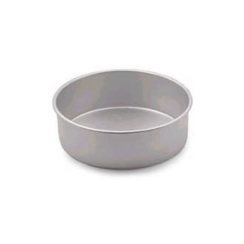 Allied Metal CPH7X3 Heavy Weight Aluminum Straight Sided Pizza/Cake Pan, 7 by 3-Inch