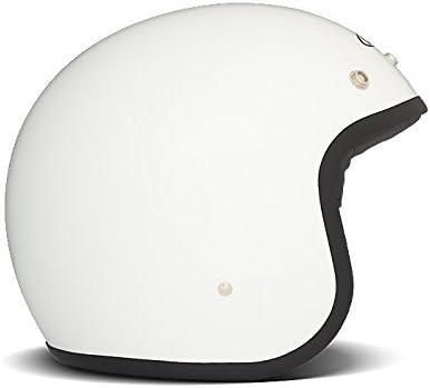 Amazon.es: DMD - Casco de Moto Unisex Blanco Liso X-Small Blanco ...