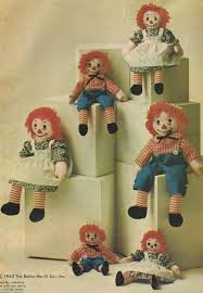 McCall's Crafts Pattern 6941 Raggedy Ann and Raggedy Andy 15