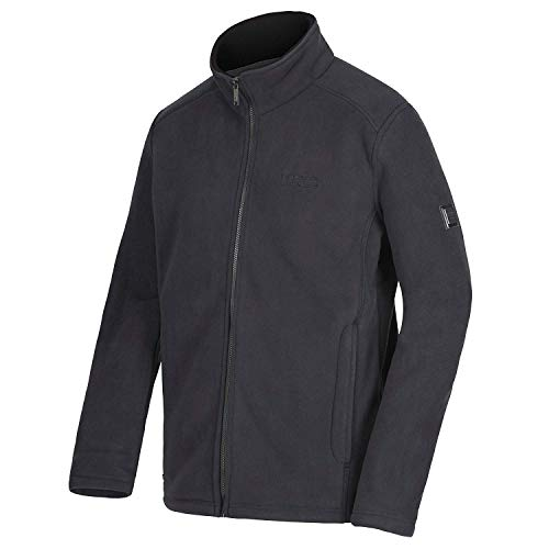 Fleece Garrian Slgris Sherpa Backed Zip Full Regatta Polyester Mens Jacket blk wz4x50wfnq