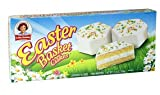 Little Debbie White Easter Basket Cakes, 10 Cakes Per Box, Pack of 2 Boxs