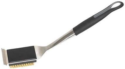 7,5cm x 6cm x 43cm Noir//Argent//Brass Outdoorchef Brosse pour Barbecue