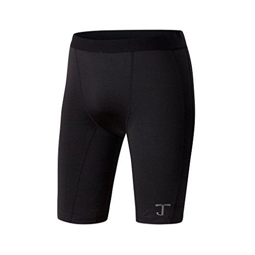 サイトライン振る舞ううなるWZy & JYMメンズアクティブ圧縮Running Shorts