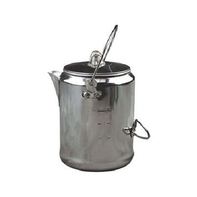 Coleman 2000016428 Coffee Pot, Aluminum, 9-Cup
