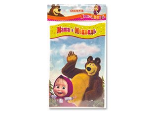 1psc Tablecloths Polyethylene Masha and the Bear's Birthday Party Favors Party Supplies by Masha and the Bear