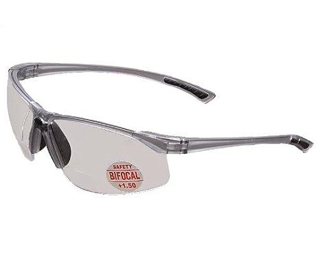 wide frame bifocal safety glasses for larger face shapes 150 magnifier - Wide Frame Glasses