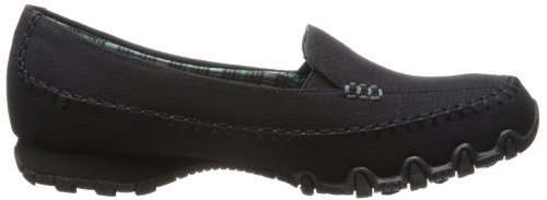 Skechers Da Donna Biker Cross Walk Memory In Mocassino Slip-on Nero