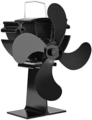 Ventilador de Chimenea La Estufa de Calor accionada Ventilador de ...
