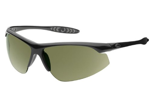 Gargoyles Men's Striker-Stalker QGY1080.QTM Wrap Sunglasses,Black Frame/Green Lens,one size (Mcguire John)